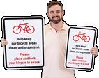 Custom Bicycle Sign