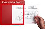Evacution Route Map