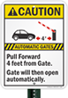 Parking Gate Signs