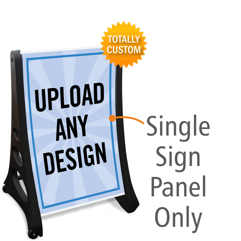 Custom Signs Banners Clings Aframes  Free Shipping