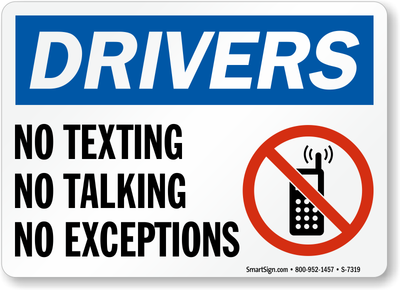 No Texting, No Talking, No Exceptions Sign  Road Safety. Exchange Email Monitoring Software. Osha 30 Hour Construction Safety Training. Digital Marketing Masters Programs. Streptococcal Infections Are Spread By. Should I Roll My 401k Into An Ira. Northampton Community College Online. Cost Of Facebook Stock Average S&p 500 Return. Music Theory Online Course Free