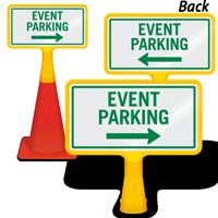 Event Parking Arrow ConeBoss Sign
