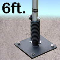 FlexPost® Sign Post - Concrete Model