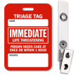 Immediate Life Threatening Triage Tag