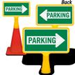 Parking Arrow ConeBoss Sign