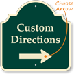 Customizable Directions Palladio Sign