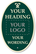 Design Palladio Sign, Add Heading, Logo And Motif