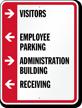 Customizable Parking Lot Directory Sign