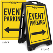Event Parking Directional Portable Sidewalk Sign