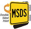 MSDS Sign