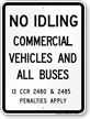 State Idle Sign for Connecticut