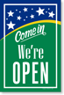 Open Come In Sign