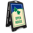 Open House A-Frame Sidewalk Sign Kit