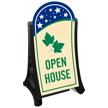 Open House Standard Portable Sidewalk Sign Kit
