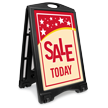 Sale Today Portable A-Frame Sidewalk Sign Kit