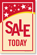 Sale Today Sign