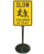 Slow Children At Play Sign Post Kit