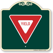 Yield Symbol Signature Sign