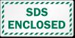 SDS Enclosed Striped Border Label