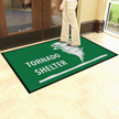 Tornado Shelter Safety Message Mat