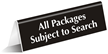 All Packages Subject to Search