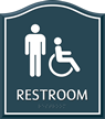 ADA - Restroom Sign