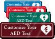 AED Symbol Sign