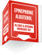 Allergy And Asthma Emergency Kit Projecting Sign