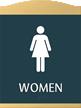 Women Graphic Braille Sign