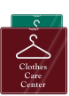 Clothes Care Center (with hanger symbol)