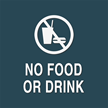 No Food or Drink, with Graphic