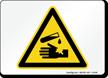 Corrosive Symbol Sign
