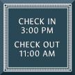 Azteca Custom General Information Sign with Border, 7.875