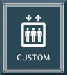 Azteca Custom Regulatory Sign with Border, 9.375