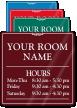 Customizable Room Name Sign