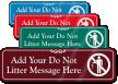 Do Not Litter Symbol Sign
