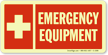 Emergency Equipment Sign