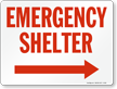 Emergency Shelter (Arrow Right)