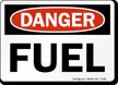 Danger Fuel Sign