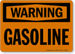 Warning Gasoline Sign