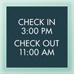 General Information Sign