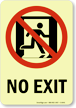GlowSmart™ No Exit Sign