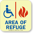 GlowSmart™ Area of Refuge Sign