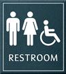 Restroom Unisex Handicapped Sign