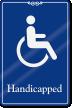 Handicapped ADA Sign