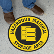 Hazardous Material Storage Area Sign