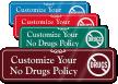 No Drugs Symbol Sign