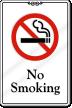 No Smoking (with No Smoking symbol)