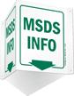 MSDS Info Sign