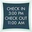 Room Info Sign